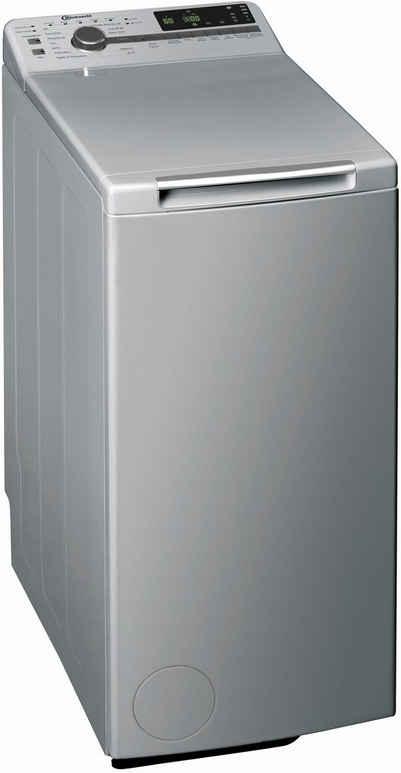 BAUKNECHT Waschmaschine Toplader WMT Silver 7 BD N, 7 kg, 1200 U/min