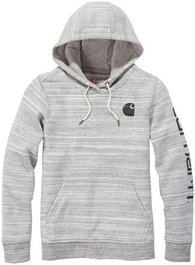 CARHARTT Sweatshirt »CLARKSBURG«, SHADOW SPACE DYE, Damen Pullover