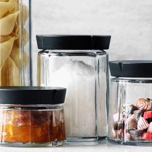 Rosendahl Aufbewahrungsbox »Aufbewahrungsglas GRAND CRU 0.75L«, Glas, Kunststoff (lebensmittelecht)