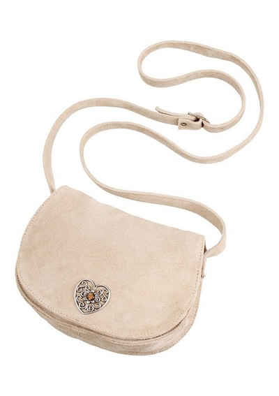 Kabe Leder Accessoires Trachtentasche, mit Applikation