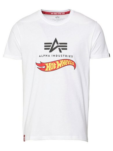 Alpha Industries T-Shirt »Hot Wheels« (1-tlg)