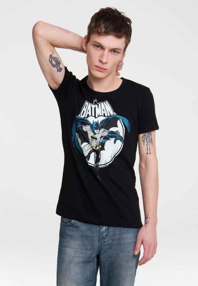 LOGOSHIRT T-Shirt »Batman« mit Vintage-Print
