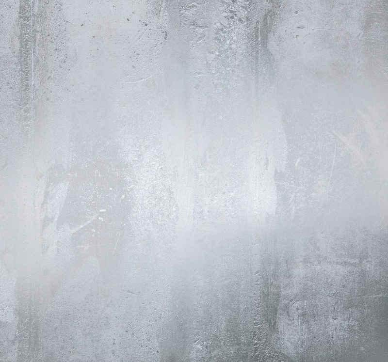 Komar Fototapete »Arte«, glatt, Steinoptik, schimmernd, Silber-Optik, (Packung)