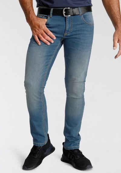 Arizona Slim-fit-Jeans in Superstretch- Qualität mit Jogginghosen Gefühl