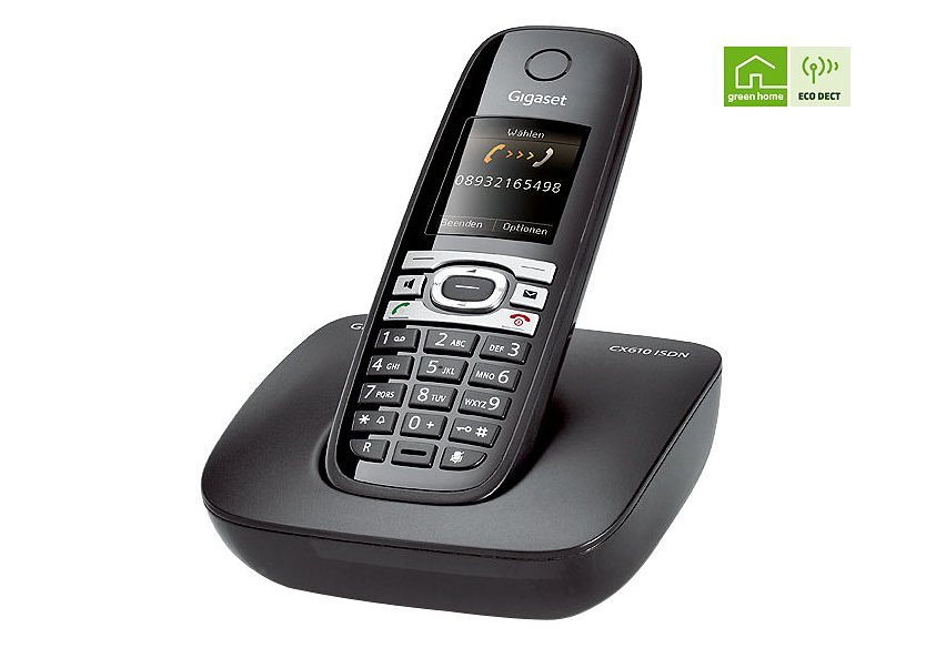 gigaset cx610 schnurloses isdn telefon kaufen otto. Black Bedroom Furniture Sets. Home Design Ideas