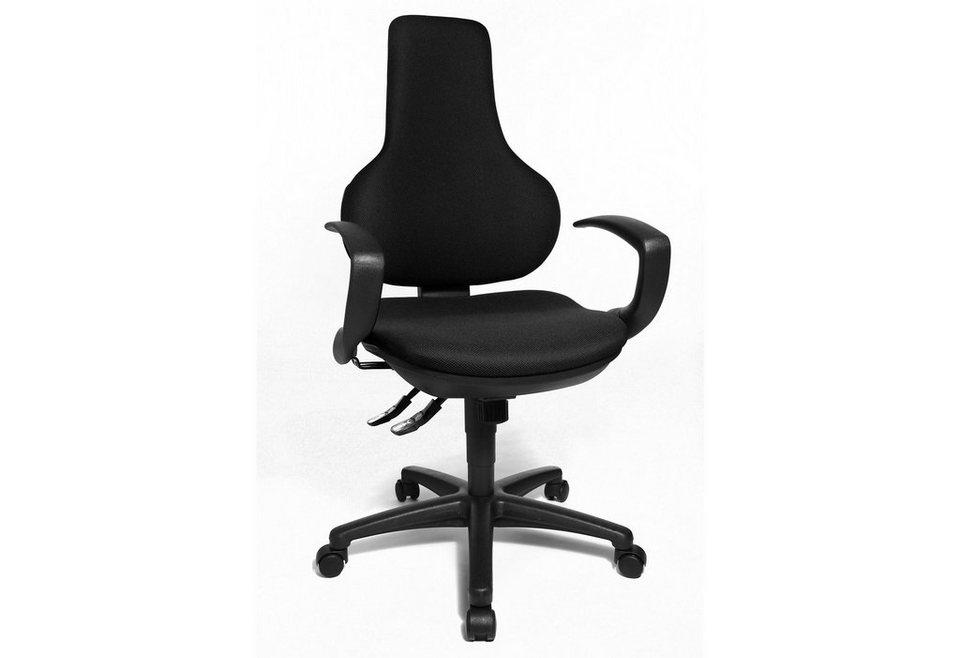 Topstar Bürostuhl »Ergo Point SY EP020Q«, in 3 Farben in schwarz
