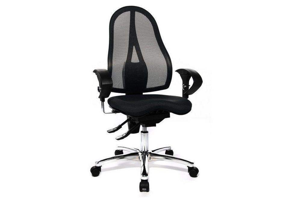 Topstar Bürostuhl »Sitness 15 ST19U«, in 2 Farben in schwarz