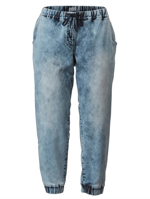 Hosen - Angel of Style by Happy Size Jogpants mit Tunnelzug › blau  - Onlineshop OTTO
