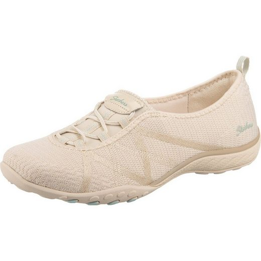 Skechers »Breathe-easy - A-look Sneakers Low« Slip-On Sneaker