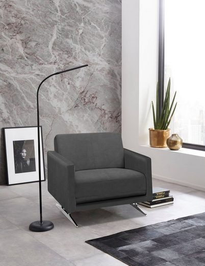 Places of Style Sessel »Randen«, in modernem Design und drei Bezugsqualitäten