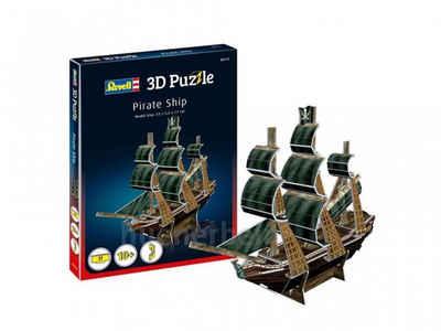 Revell® Steckpuzzle »Revell 3D Puzzle: Piratenschiff«, Puzzleteile