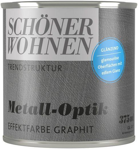 SCHÖNER WOHNEN-Kollektion Wand- und Deckenfarbe »Trendstruktur Metall-Optik«