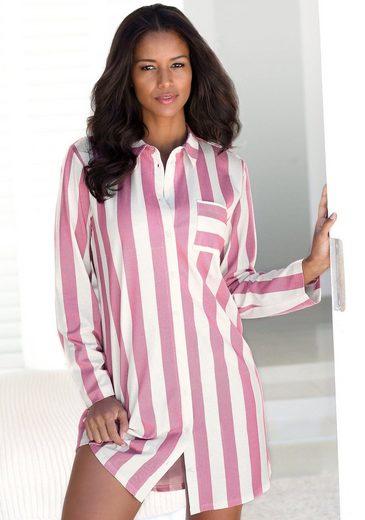 Vivance Dreams Nachthemd im Hemdblusenlook