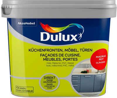 Dulux Holzlack »Fresh Up«, für Küchen, Möbel und Türen, madras rot, 0,75 l