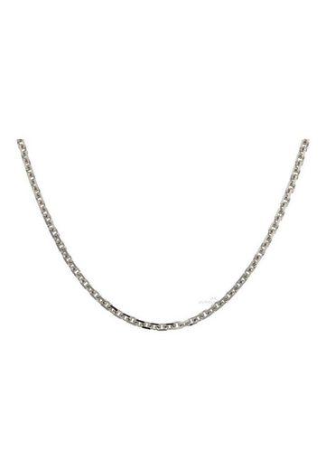 JuwelmaLux Goldkette »Halskette Weißgold Ankerkette« (1-tlg), Damen Halskette Weißgold 585/000, inkl. Schmuckschachtel