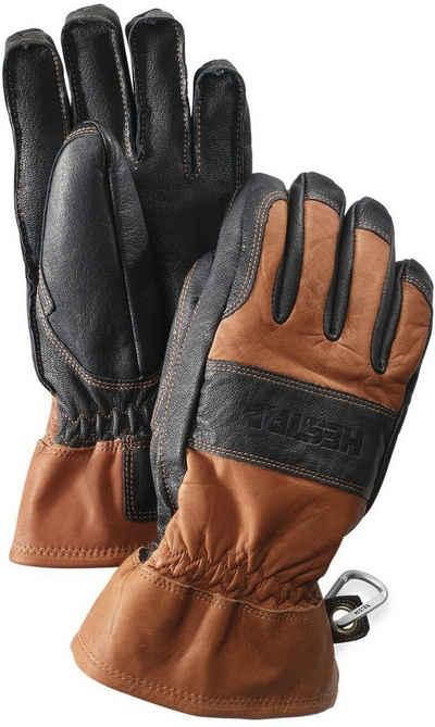 Hestra Lederhandschuhe »Fält Guide« mit Ösen zum Fixieren
