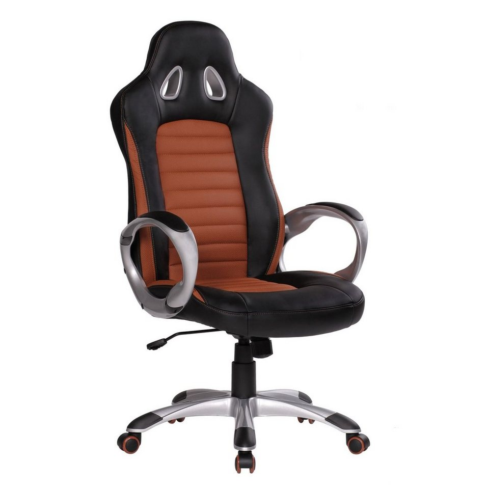 Amstyle Gaming Stuhl SPM1 215 Bürostuhl RACER Caramel
