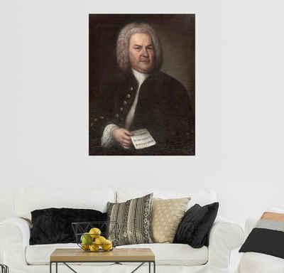 Posterlounge Wandbild, Johann Sebastian Bach