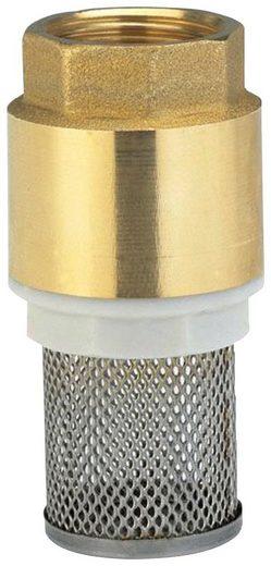 GARDENA Rückschlagventil »07220-20«, Fußventil, Messing, 26,5 mm (G 3/4)-Gewinde
