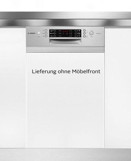 BOSCH teilintegrierbarer Geschirrspüler, SPI66TS01E, 9,5 l, 10 Maßgedecke, 45 cm breit