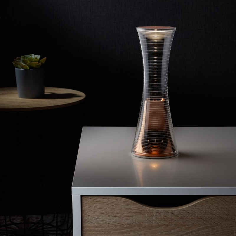 Artemide LED Tischleuchte »LED Tischleuchte Come Together in Kupfer 3,6W«, Tischleuchte, Nachttischlampe, Tischlampe