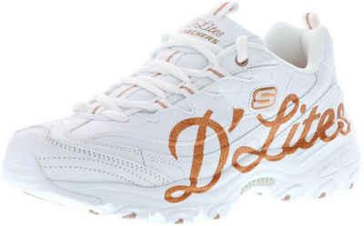 Skechers »13165/WTRG D'Lites-Glitzy City White/Rose Gold« Sneaker