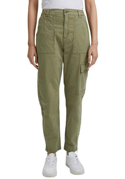 Esprit Cargohose im washed-out-Look