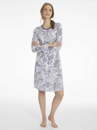 CALIDA Nachthemd »Nachtkleid, Länge 100cm« (1-tlg) Made in Europe