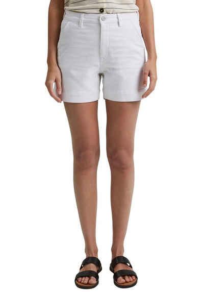 Esprit Shorts mit abgestepptem Umschlag
