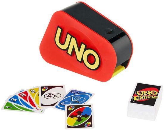 Mattel games Spiel, Kartenspiel »UNO Extreme«, mit Soundfunktion