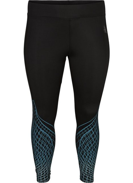 Hosen - Active by ZIZZI Trainingstights Große Größen Damen 7 8 Stretch Trainingstights ›  - Onlineshop OTTO