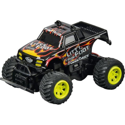 CARSON Spielzeug-Auto »Carson 1:60 Nano Racer Little Foot MHz 100%RTR«