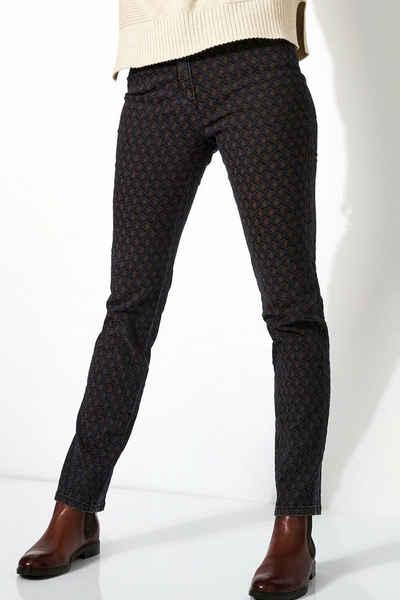 TONI 5-Pocket-Jeans »be loved« aus Jacquard-Denim