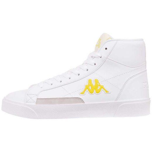 Kappa »LOLLO MID PC« Sneaker im klassischen Retro Basketball Look