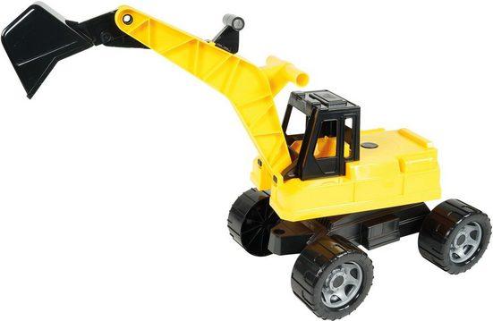 Lena® Spielzeug-Aufsitzbagger »Giga Trucks, schwarz-gelb«