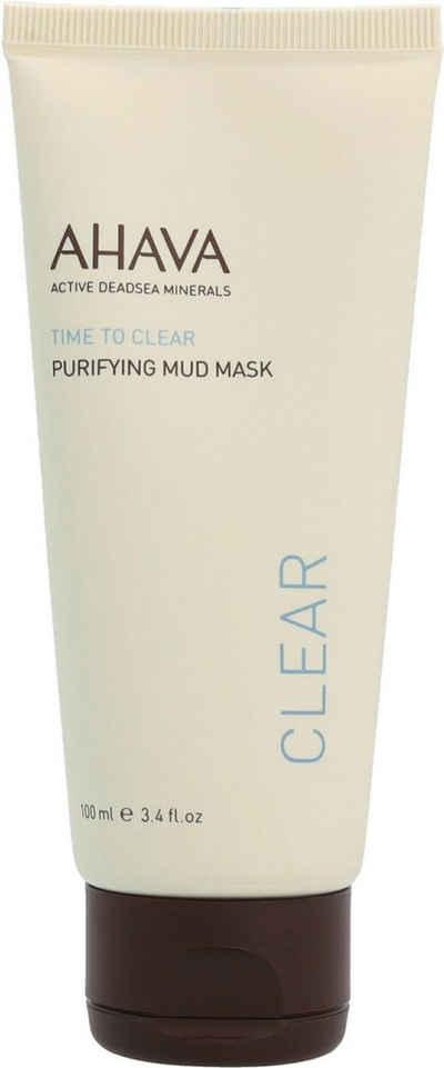 AHAVA Gesichts-Reinigungsmaske »Time To Clear Purifying Mud Mask«