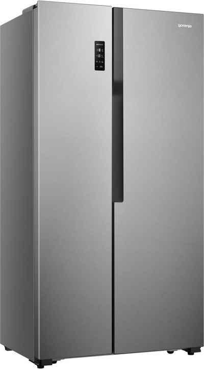GORENJE Side-by-Side NRS918EMX, 178,6 cm hoch, 91 cm breit