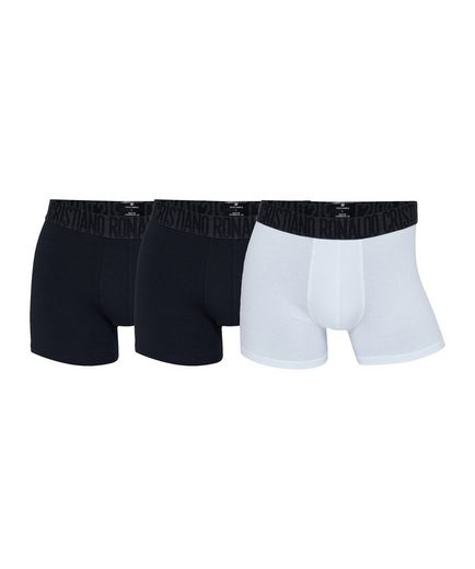 CR7 Boxershorts »Basic Trunk Boxershort 3er Pack«