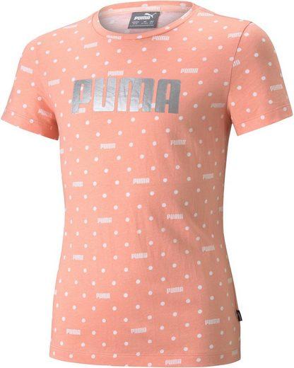 PUMA T-Shirt »Graphic AOP Tee G«