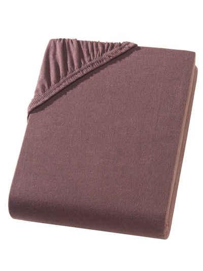 Spannbettlaken »Exclusive Split Topper-Spannbettlaken, Spannbetttuch aus 100% Baumwolle, Ideal für getrennt verstellbare Topper, Premium Qualität 160 g/m², Feinste Baumwolle«, Hometex Premium Textiles