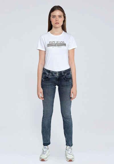 Pepe Jeans Cordhose »GEN« in weicher Cord-Qualtät mit geradem Bein und Doppel-Knopf-Bund