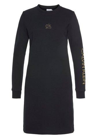 Calvin Klein Sweatkleid »CK GOLD LOGO LS SWEAT sukn...