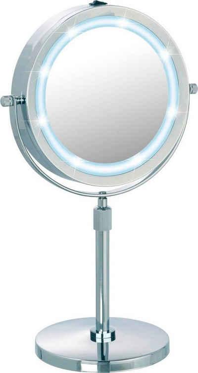 WENKO Kosmetikspiegel »Lumi«, mit 5-fach Vergrößerung