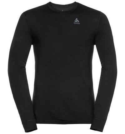 Odlo Funktionsshirt »NATURAL 100% MERINO WARM Langarm-Shirt« (1-tlg)