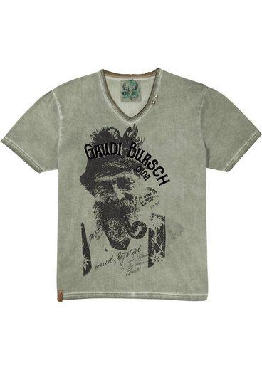 MarJo Trachtenshirt mit Frontprint