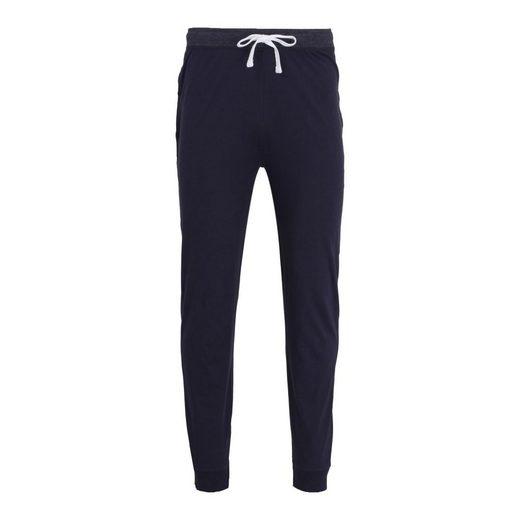 TOM TAILOR Schlafanzug (1 tlg) Tom Tailor Hose, Sofahose, Jogginghose, Freizeit mit Taschen, Bündchen an den Beinenden