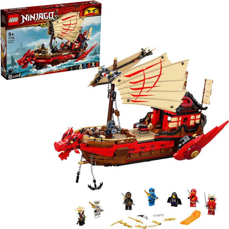 LEGO® Konstruktionsspielsteine »Ninja-Flugsegler (71705), LEGO® NINJAGO®«, (1781 St), Made in Europe