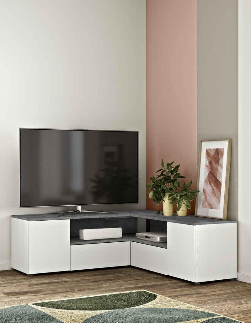 TemaHome TV-Bank »Angle TV Tisch«