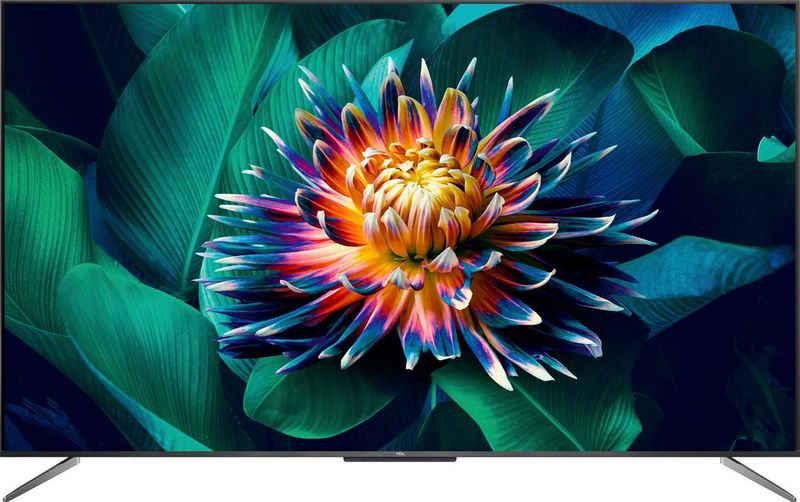 TCL 65C715X1 QLED-Fernseher (164 cm/65 Zoll, 4K Ultra HD, Smart-TV)