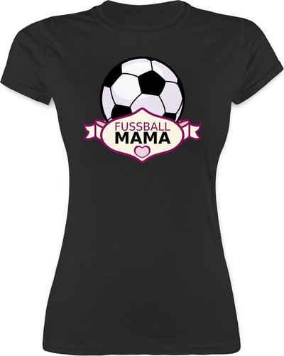 Shirtracer T-Shirt »Fußball Mama - Muttertagsgeschenk - Damen Premium T-Shirt«